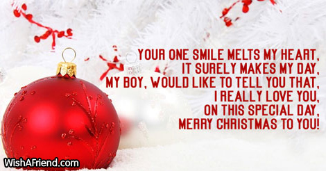 Christmas Messages For Him