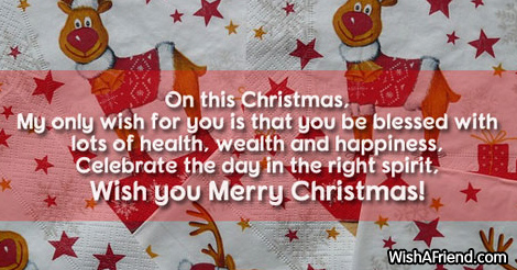 16691 christmas messages for brother