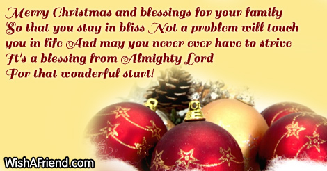... Merry Christmas Blessing Quotes Name Pix · Christmas ...