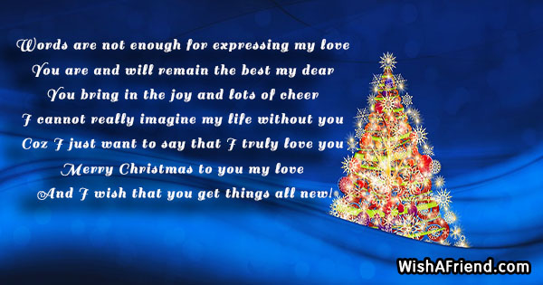 Christmas messages for husband 18818 christmas messages for husband m4hsunfo