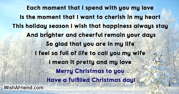 Christmas messages for wife 18827 christmas messages for wife m4hsunfo