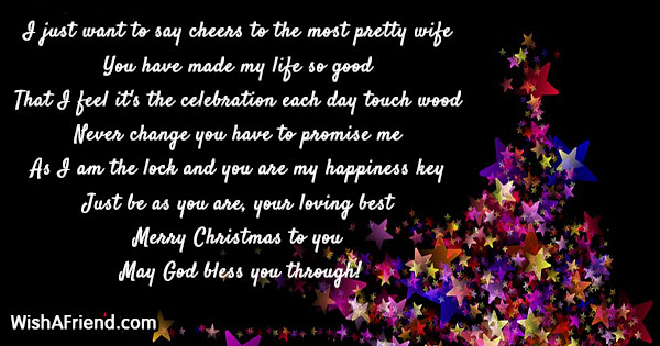 18836 christmas messages for wife - What Does My Wife Want For Christmas