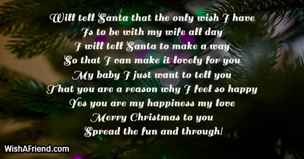 Christmas messages for wife 18839 christmas messages for wife m4hsunfo