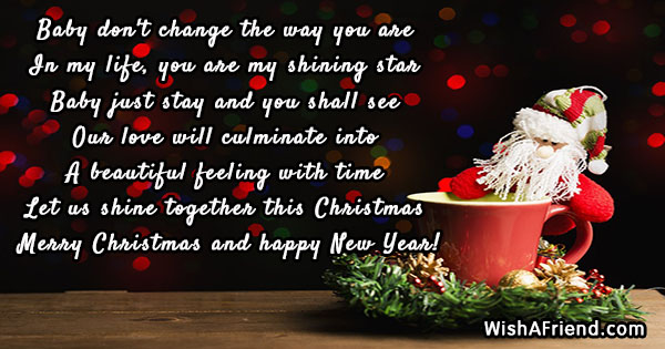 Christmas Messages for Girlfriend