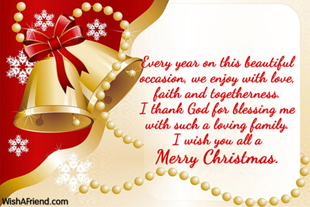 Every year on this beautiful occasion,, Merry Christmas Message