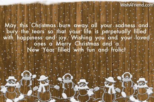 May this christmas burn away all christmas card message 6086 christmas card messages m4hsunfo