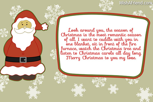 Romantic christmas card sayings lektonfo romantic christmas card sayings m4hsunfo