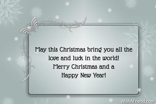 happy christmas sentences