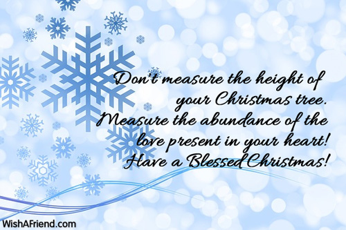 Don T Measure The Height Of Your Christmas Saying For Cards