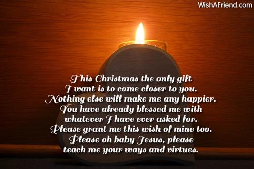 6265 christmas prayers