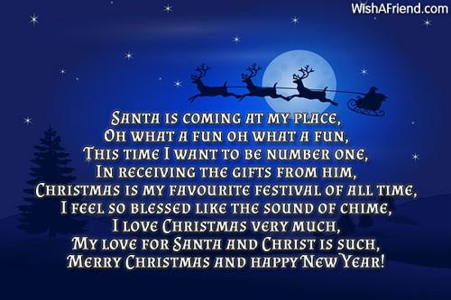 6311 christmas poems for children
