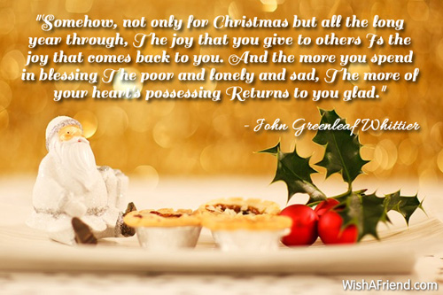 The 45 Best Inspirational Merry Christmas Quotes Of All: Inspirational Christmas Quotes
