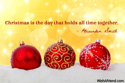 Christmas Is The Day That Holds Christmas Quote For Family