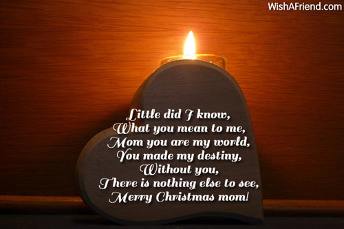 7269 Christmas Messages For Mom
