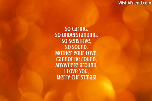 Christmas Messages For Mom