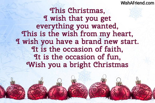This Christmas, I wish that you, Christmas Wish
