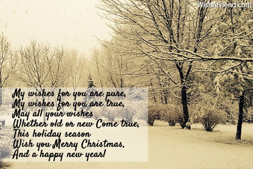 My wishes for you are pure my christmas greetings 9666 christmas greetings m4hsunfo