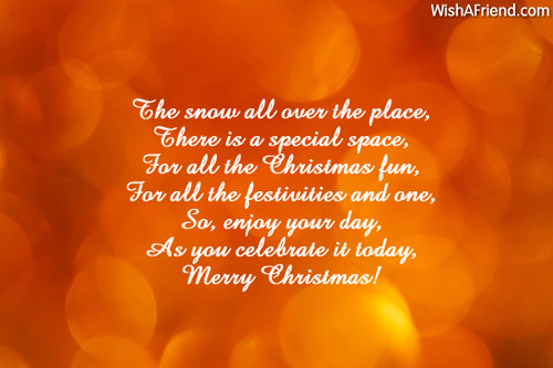 9998 short christmas poems
