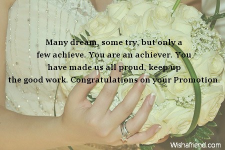 Congratulations Quotes For Promotion Congratulations on your