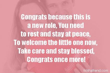 7355 pregnancy congratulations messages