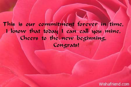 5766 Engagement Card Messages