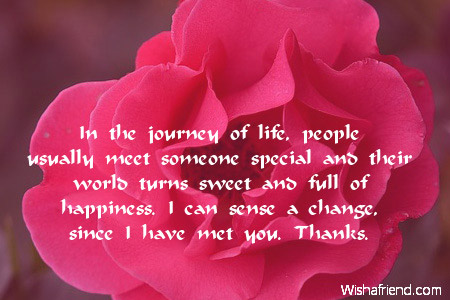 In the journey of life, people, Flirty Message To Send To