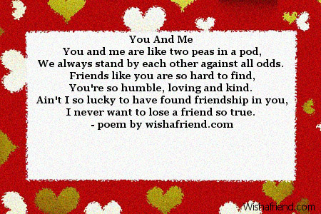 3919 poems for best friends