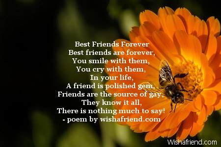 Best friend forever poems best friends forever best