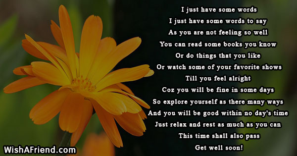 14818 get well soon poems