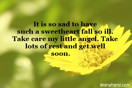 Get Well Soon Messages For Kids – Get Well Soon Message