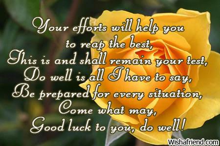 8036 good luck messages
