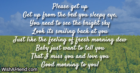 12049 good morning poems for girlfriend
