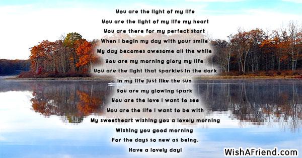 Life poem this is my Romantic Love