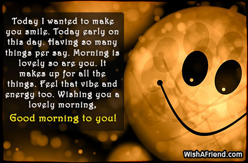 Sweet good morning message today i wanted to make 21097 sweet good morning messages m4hsunfo