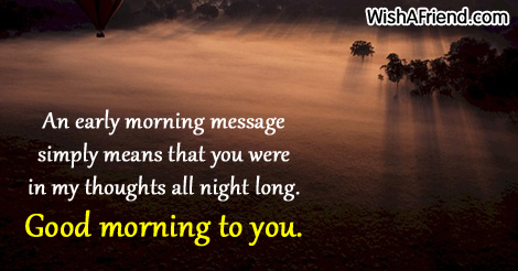 Sweet good morning message an early morning message simply means 7885 sweet good morning messages m4hsunfo