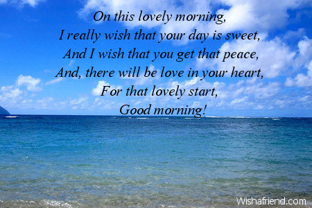 Motivational good morning message on this lovely morning i motivational good morning messages m4hsunfo
