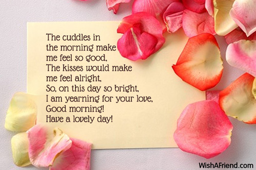 Good Morning Love Text To Girlfriend