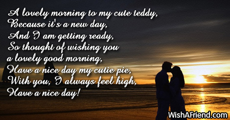Gud morning messages for him