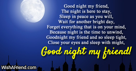 Night Good poems pictures best photo