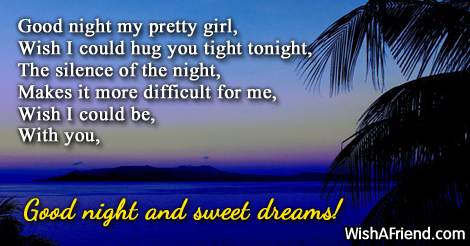 Good night my pretty Romantic Good Night Quotes For Her