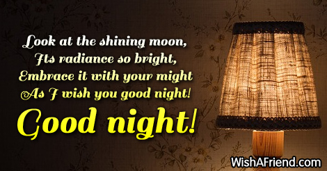 Good night greetings m4hsunfo
