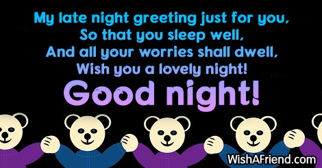 Good night greetings 9582 good night greetings m4hsunfo