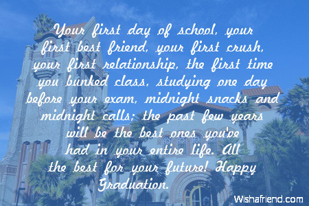first day of school your first best friend your first crush your first ...
