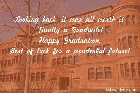Graduation wishes m4hsunfo