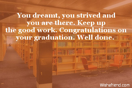 Poems Of Well Wishes For College Graduate 115