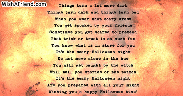 22406 Halloween Poems