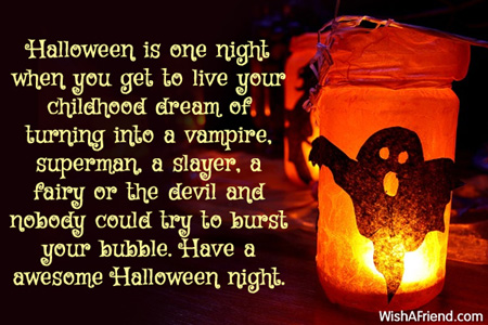 4948 Halloween Messages
