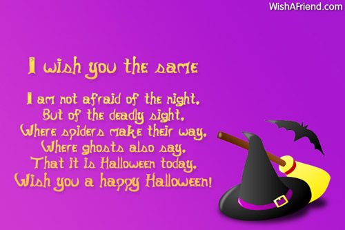 17 Best images about Halloween Quotes, Sayings and ... |Halloween Poems For Friends