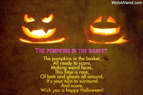 9564 Halloween Poems