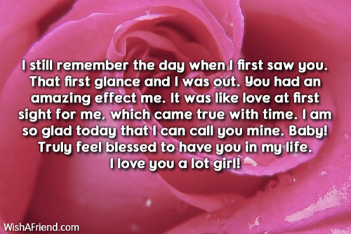 I still remember the day when Love Letters for Her – Love Letter for Her